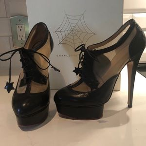 Charlotte Olympia Astire Bootie 39.5 fits US SZ 8